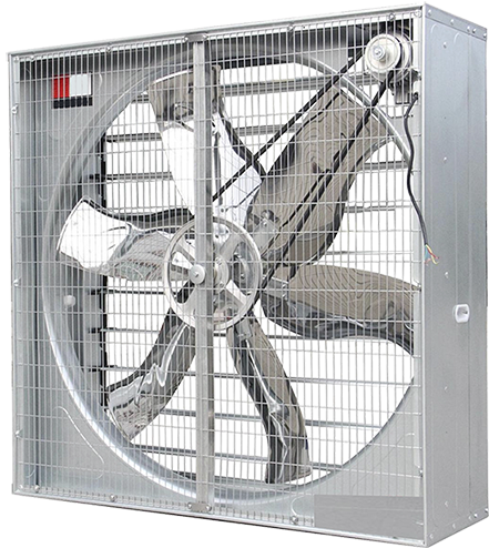 Ventilador Axial Quadrado Indireto