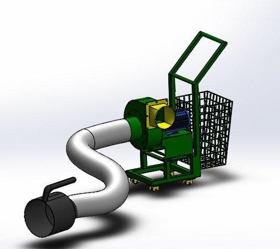 Exaustor Coletor de Fumaça Automotiva - ECF1/2ARFC.