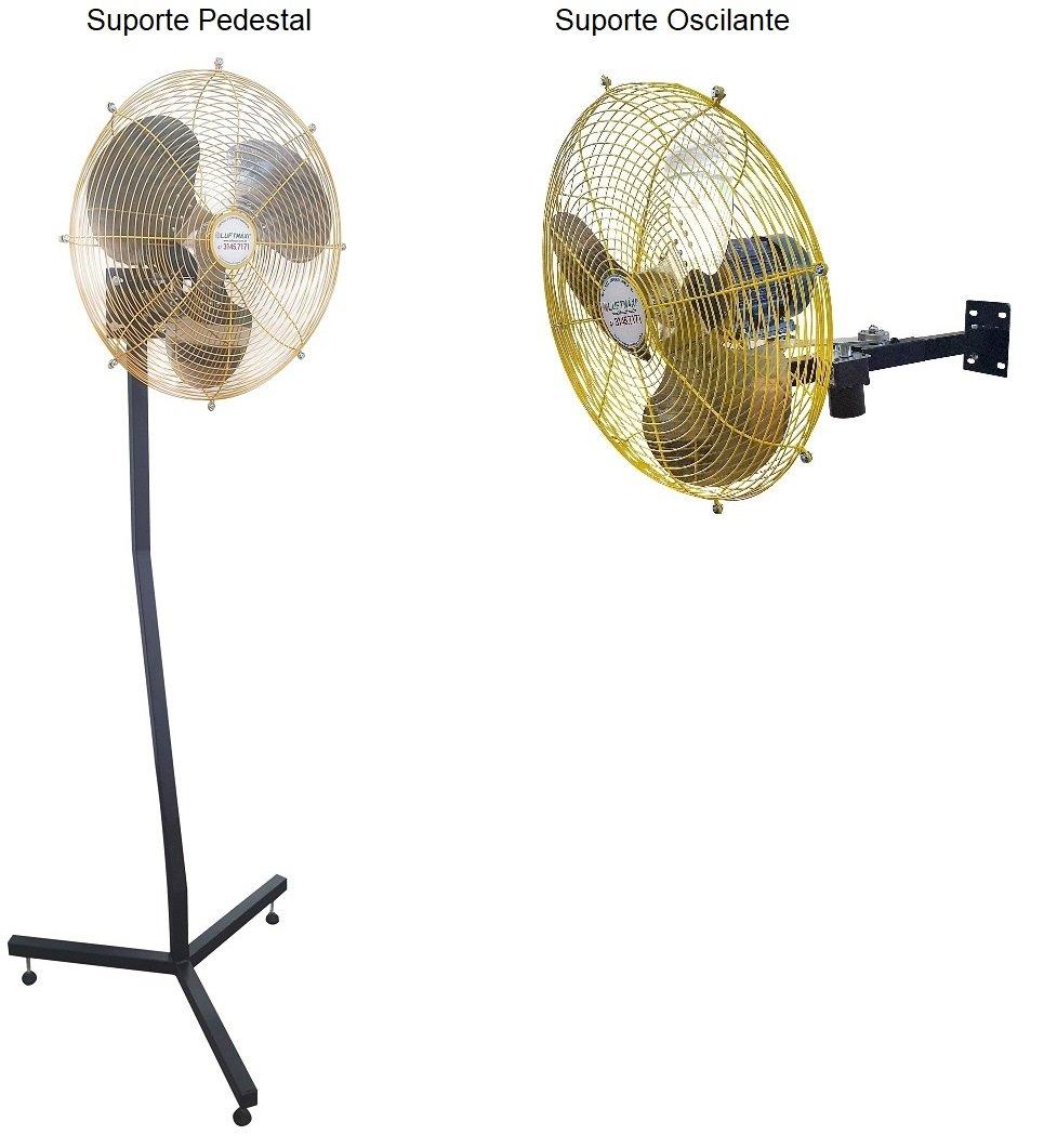 Ventilador Axial Industrial VL600 - T4   Parede