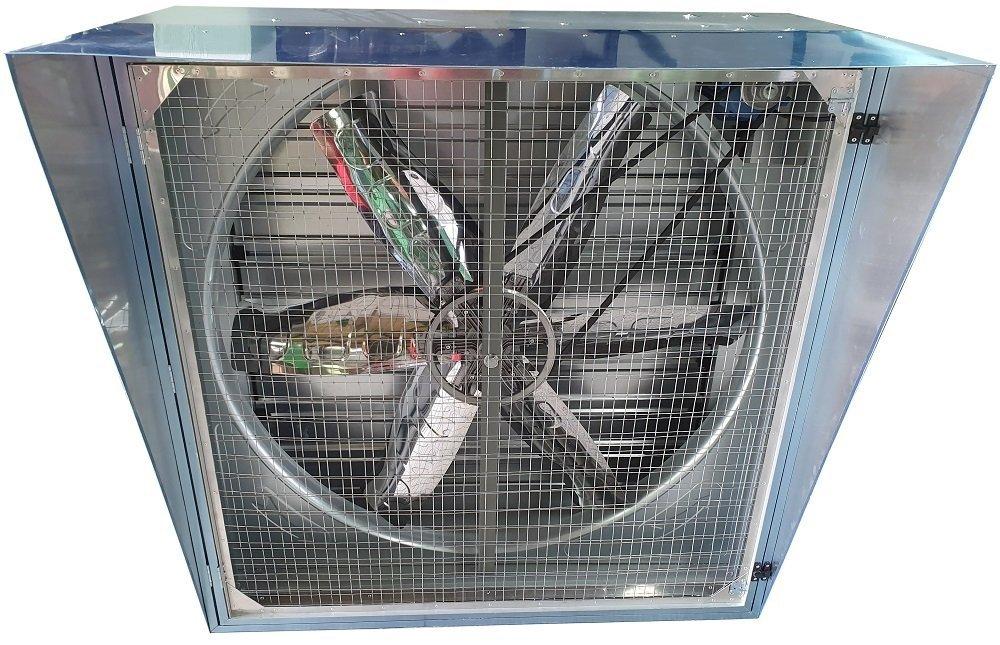 Ventilador Axial Quadrado - Filtro