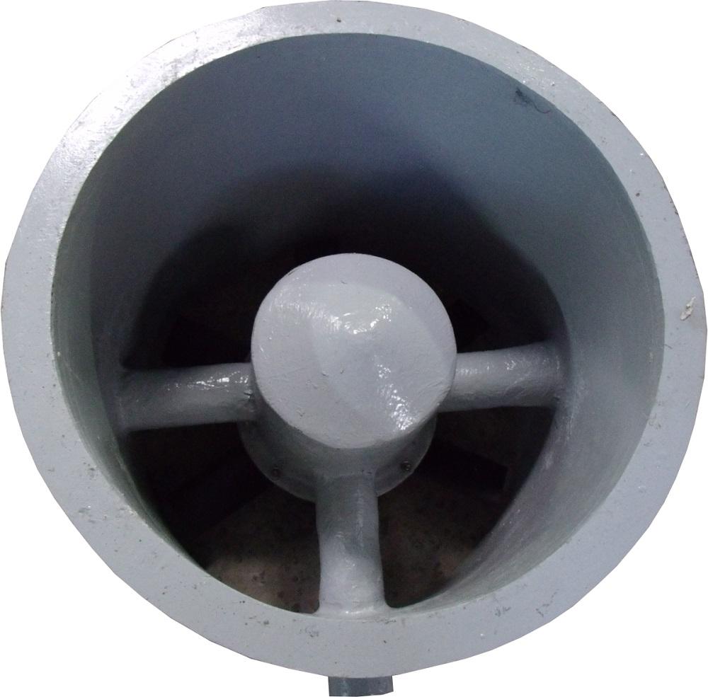 Exaustor Axial Enclausurado em Fibra