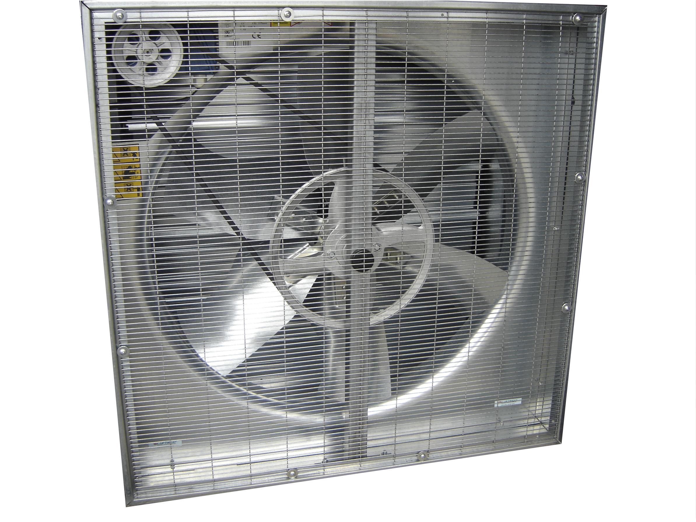 Ventilador Axial Quadrado - Indireto