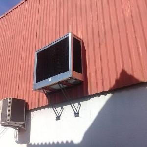 Climatizador de ar industrial de parede