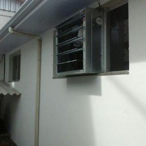 Exaustor de parede cozinha
