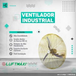 Fabrica de ventiladores industriais