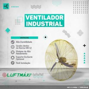 Fabricante de ventiladores industriais