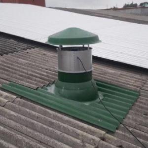 Ventilador industrial de teto