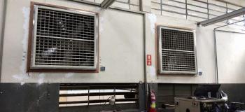 Climatizador e umidificador industrial